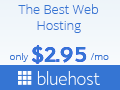 Bluehost is one of the largest and most reliable professional web hosting partner you can find in the marketplace. Bluehost is powering Over 2 Million Websites Worldwide. From shared hosting, to your very own dedicated server, Bluehost can help you bring your websites to life. Sign Up Here.