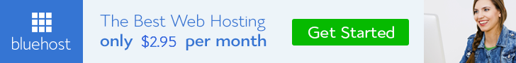 Bluehost web hosting | Free Domain | SSL Security Service | 1-Click WordPress Instal | Less Than $50 Yearly